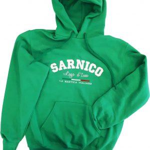 Felpa Cappuccio Sarnico