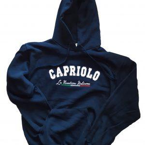 Felpa cappuccio Capriolo